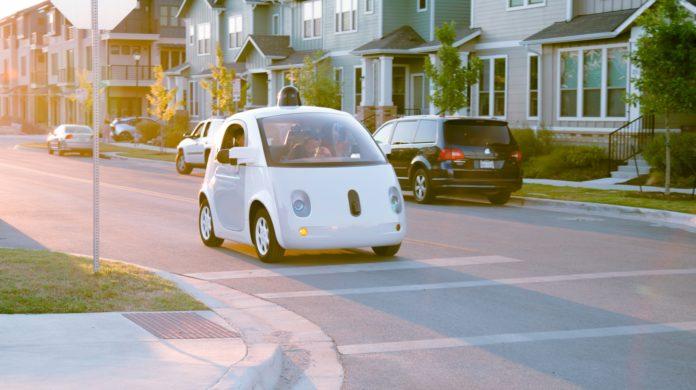 Google Waymo Car