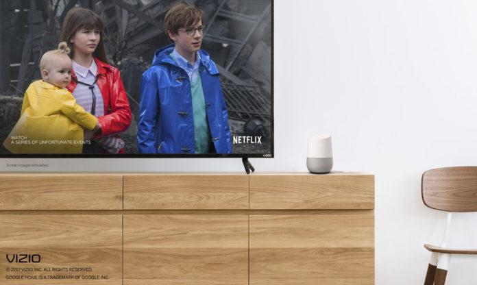 Google Home Vizio SmartCast