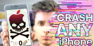 Crash Any iPhone