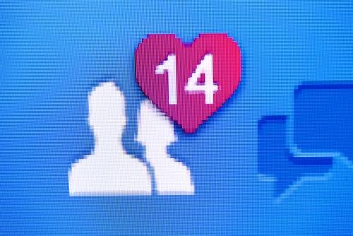 Facebook Valentine's Day