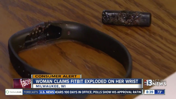 Fitbit explodes