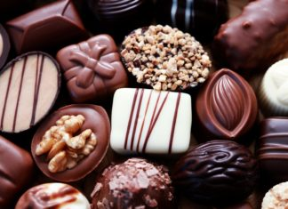 snort chocolate