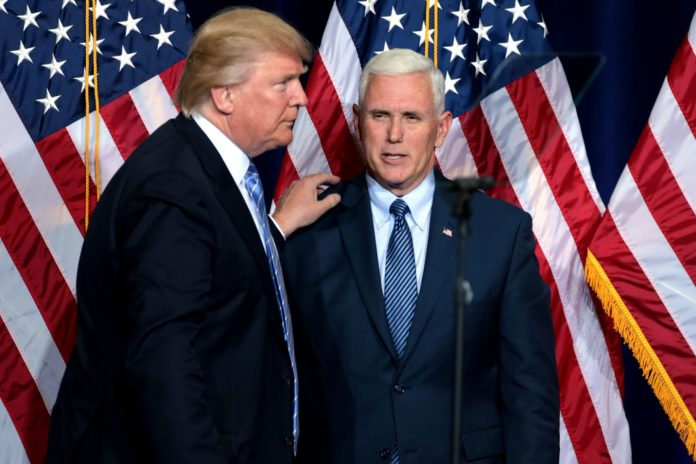Anthem kneeling: Mike Pence explains leaving National Football League  game, receives praise from Trump