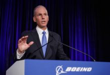 Boeing CEO Fired